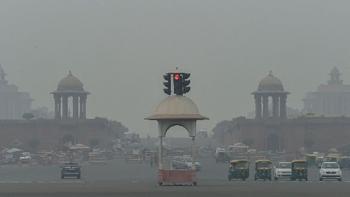 દિલ્હીમાં એર ક્વૉલિટી ઈંડેક્સ ખરાબ સ્તરે: ૨.૫નો સ્તર ૧૫૯ નોંધાયો