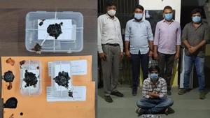 ઉડતા ગુજરાત: ગાંધીનગરમાંથી ૭.૫૦ લાખના ડ્રગ્સ સાથે એકની ધરપકડ