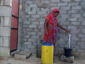 જળ અભિયાન:લોથલ પાસેના છેવાડાના ગામો ૧૦૦ ટકા નળ જોડાણ ધરાવતા ગામો બન્યા